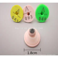 Etiqueta de ouvido de coelho de bom design para venda