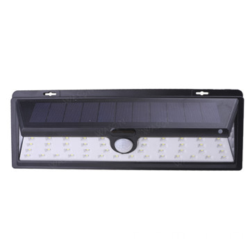54LED Super Bright 270 ° Capteur de mouvement grand angle