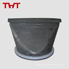 Duckbill 110mm inline water plastic customized rubber duckbill check valve