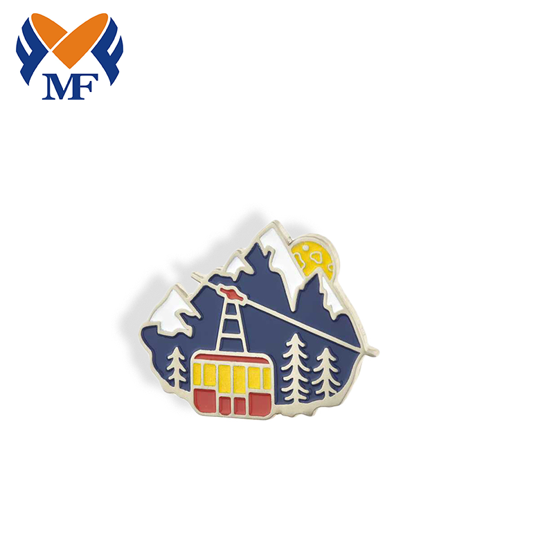 Enamel Lapel Pin Badge