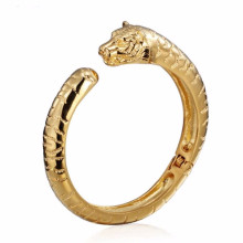 Atacado de alta qualidade mens modelos de tigre de aço inoxidável pulseiras