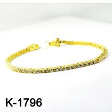O micro da prata da forma pavimentou os braceletes da jóia da configuração de CZ (K-1796. JPG)