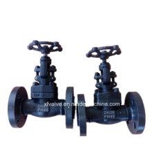 Válvula de globo da extremidade da conexão da flange do aço carbono forjado A105