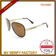 Individuelle Sonnenbrillen mit Tr90 materielle Tr15087