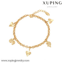 73917-Xuping Jewelry Fashion Generous Hot Sale Woman Bracelet with 18K Gold Plated