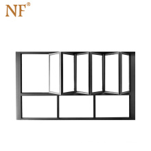 aluminum folding glass windows