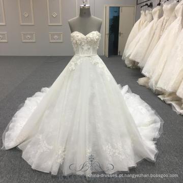 Simples Princesa Vestido De Noiva Sem Alças Inchado Vestidos De Novia Vestido De Baile Vestidos De Casamento Com Cinto Real Samples