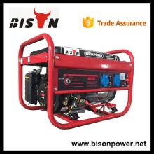 BISON (CHINA) Ägypten Markt GX160 2000W Benzin Generator 2Kw Portable Generator 2KW mit CE