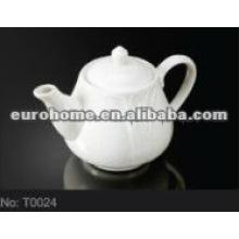El hotel y el restaurante de porcelana china tetera (N º T0024)