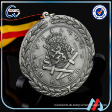 Großhandel Replik katholischen Saint Edelstahl religiösen Blank Award Medaillen