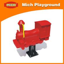 Brinquedo do cavalo de balanço da mola do parque infantil de Mich