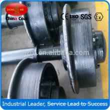 Rueda de acero para minería de 500mm de diámetro / 300mm de diámetro