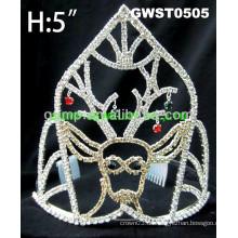 Urlaubstag Rhinestone Tiara Krone