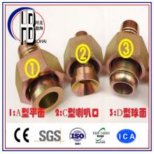 Заводская поставка Bsp SAE Jic Метрическая латунная литьевая труба