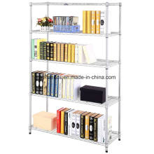 2016 Projeto Moderno Material Metálico Wire Library Shelving System