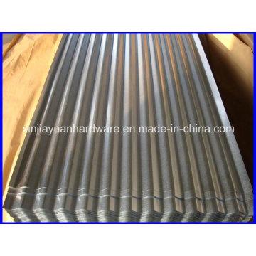 Galvalume Chapa de aço ondulado com embalagem padrão de exportação