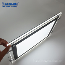 Double side/Single side picture hanging system light base for acrylic led lighted photo frame