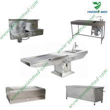 One-Stop Shopping Medical Hospital Mortuary Cadaver Table