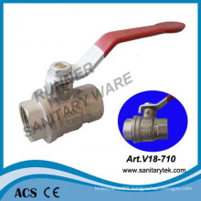 Brass Ball Valve Female Thread for Water Usage (V18-710)