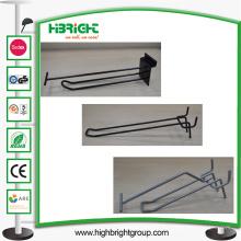 Gridwall Slatwall Single Double Hook com uma etiqueta de preço
