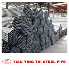 Tubo sin costura galvanizado ASTM A106