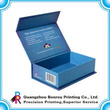 Cajas de regalo magnéticas de encargo de la galleta de la cartulina al por mayor