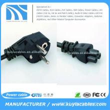 Câble d'alimentation secteur USB 3-Prong Adaptateur pour ordinateur portable 3Pin Nouveau design léger et de haute qualité.