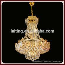 Nouveau design chinois style lustre lumière cristal décoration lampe
