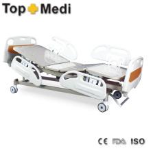 Topmedi Medical Equipment Five Function Electric Steel Hospital Bed