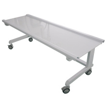 mobile transparent acrylic radiology table for x ray