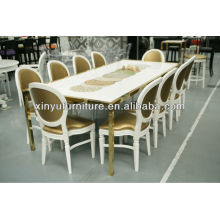 European style wooden restaurant table and chair XY0739