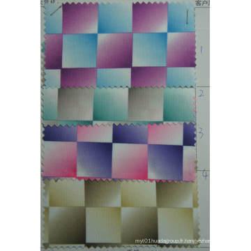 Tissu d'impression de polyester 900d avec le revêtement de PVC ou d'unité centrale