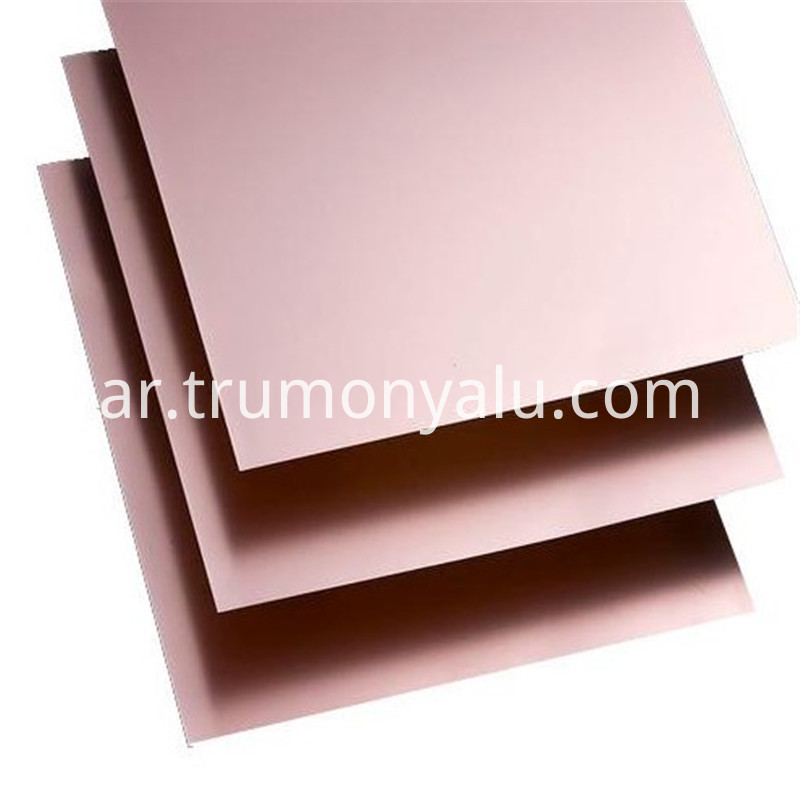 4047 H24 5052 H32 Aluminum Base Copper Clad Sheet04