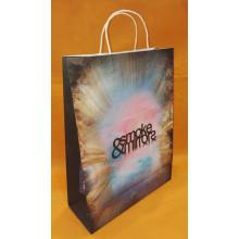 Christmas Color Printed Portable Paper Bag