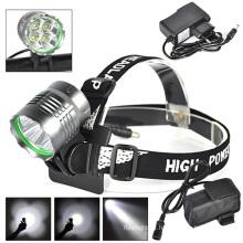 4PCS LED CREE U2 1500lm/800m Rechargeable LED Head Lamp
