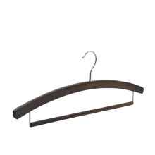 Factory directly high quality adult antique  wooden pants hanger oem
