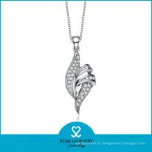 Jóia colar de prata delicada (SH-N0127)