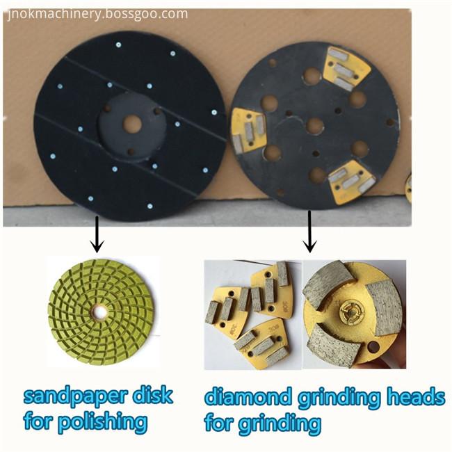 4 KW Floor Grinding Machine