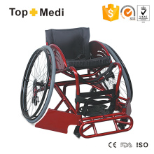 Topmedi Medical Sports Aluminum Wheelchair for Rugby Offensive