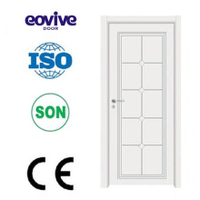 puerta de madera sólida Interior madera pintura puertas E-S009