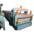 Color Steel Sheet Roofing Tile Double Deck Roll Forming Machine