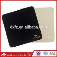 Ткань для чистки Microfiber для чистки с тиснением золотым логотипом