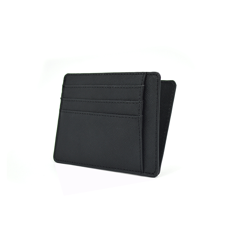Personalized Custom Travel Wallet Saffiano Leather Cardholder