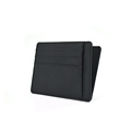 Amazon Hot Style Back 100٪ Saffiano Leather Cardholder