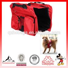 Sac de chien de transporteur de chien de haute qualité sac à dos de chien de selle de voyage pour des chiens
