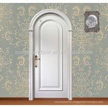 Classic entry wood door