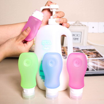 Food+grade+silicone+shampoo+squeeze+travel+bottle