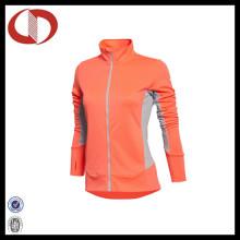 Logo personnalisé La dernière veste de sport à compression pour femme
