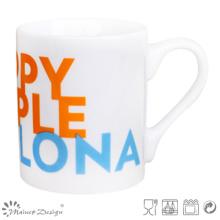Simple Design Porcelain Straight Beer Mug