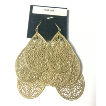 Wholesale Lace Hollow Earring with Metal